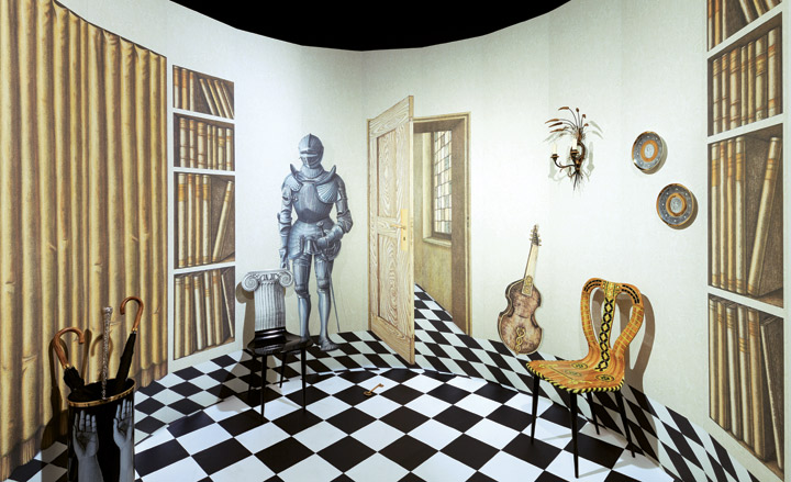 cole son presents a new collection of fornasetti wallpapers wallpaper. Black Bedroom Furniture Sets. Home Design Ideas