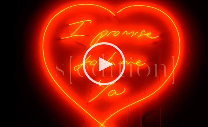 Love Wallpaper Moving :  I Promise to Love You by Tracey Emin, New York Wallpaper*