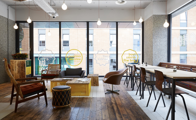 Designers reinvent low cost travel in a new crop of hotels for Amsterdam hotel low cost centro
