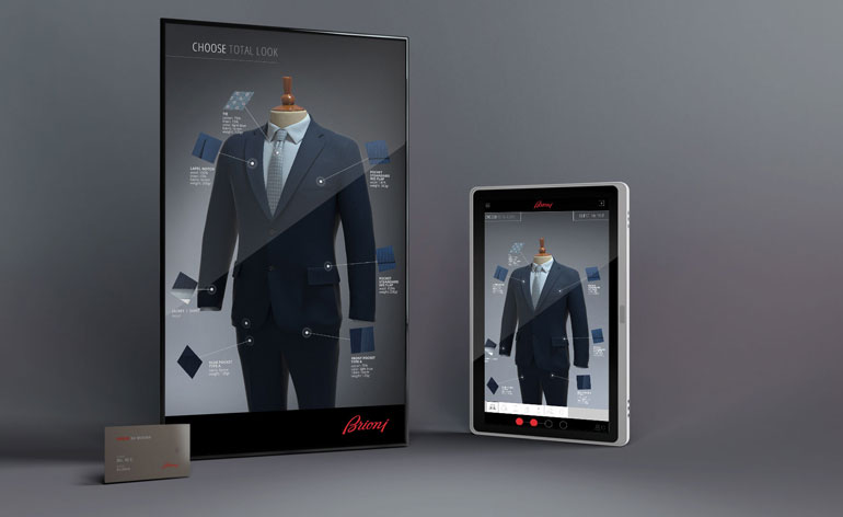 Brioni 39 s brendan mullane and designer michael for Virtual suit builder