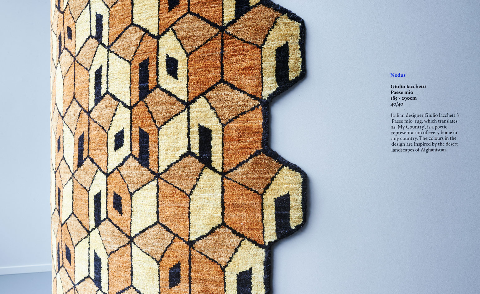 Wallpaper* AfghanMade Celebrates Traditional Craft And