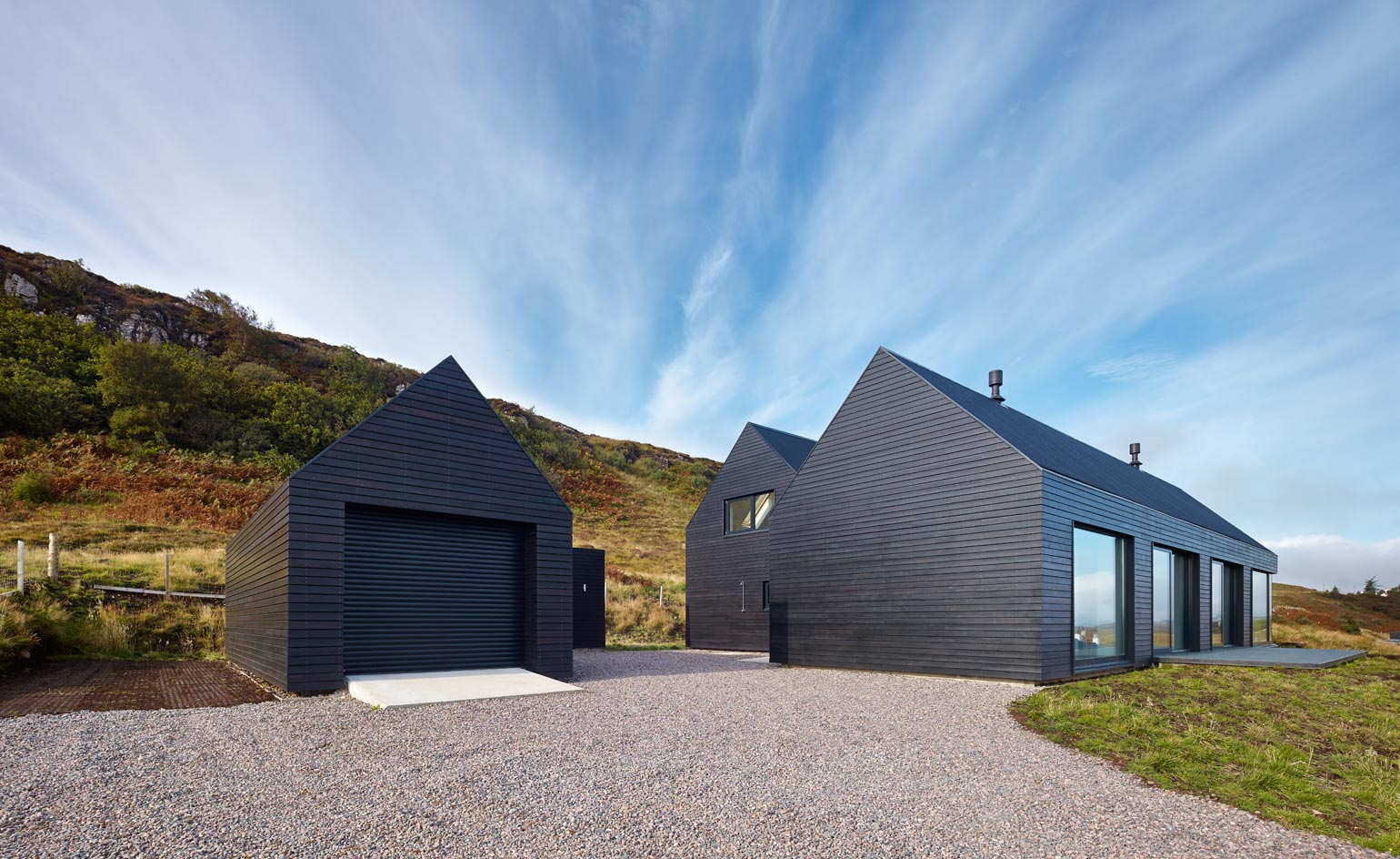 colbost house dualchas architects reinvent the scottish black shed on the isle of skye wallpaper. Black Bedroom Furniture Sets. Home Design Ideas