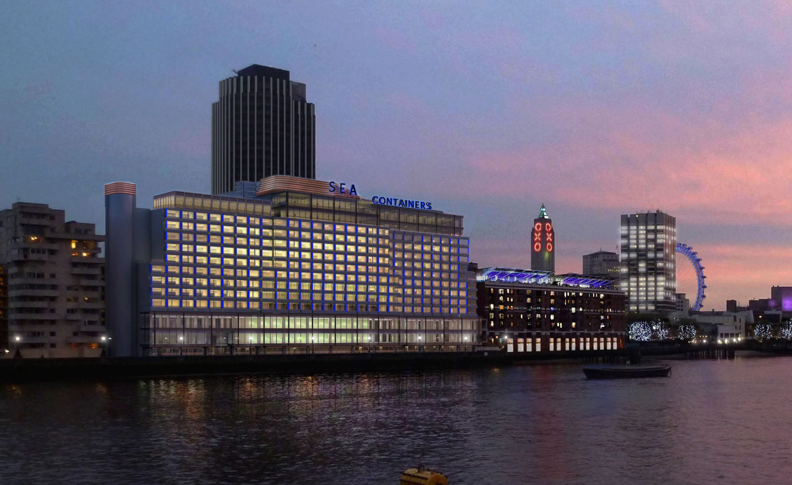 Mondrian London At Sea Containers Wallpaper