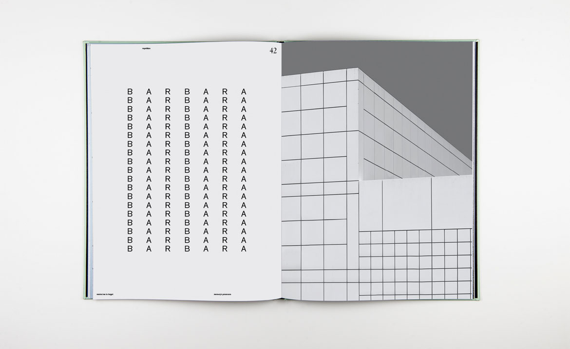 visual communication remind me to forget is johanne roten s visual essay on the process of remembering the graphic design student has developed a sparse graphical style