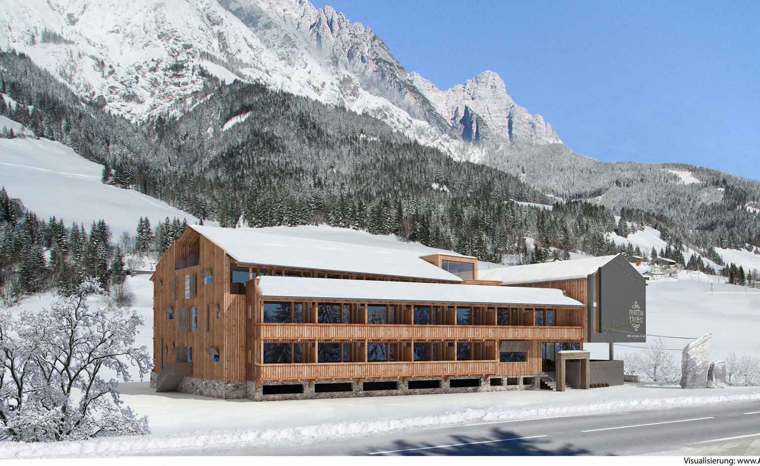 Peak performance the latest crop of ski retreats to check for Design hotel leogang