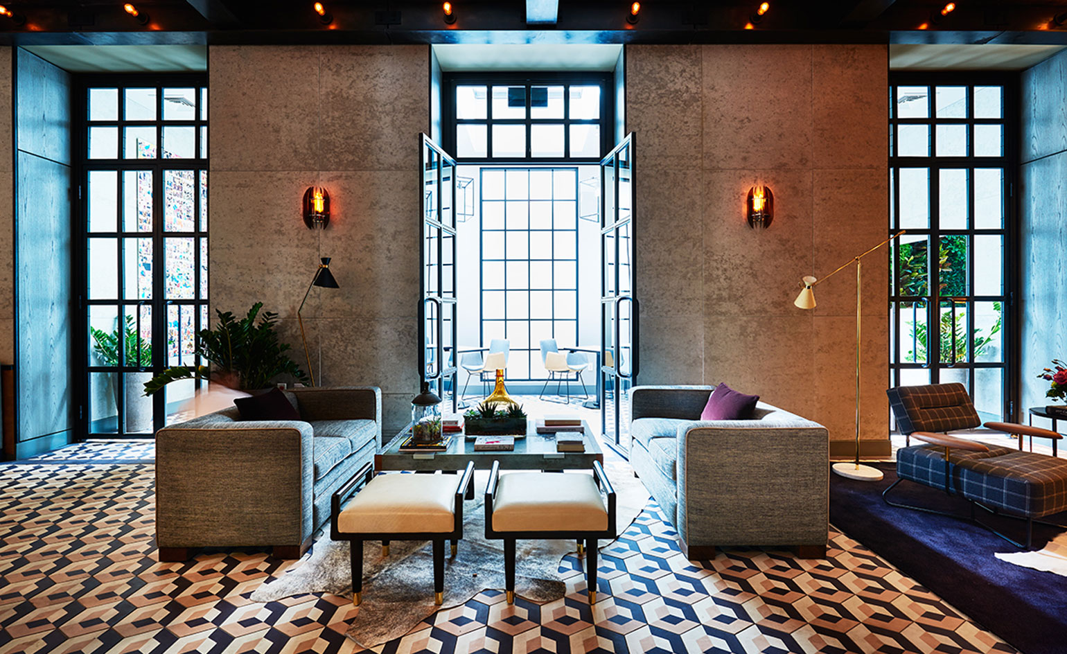 Sixty soho hotel review new york usa wallpaper for Furniture stores nyc soho