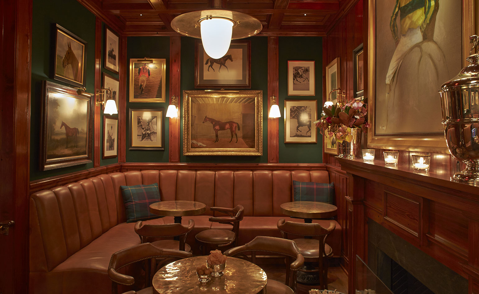 The Polo Bar Restaurant Review New York Usa Wallpaper