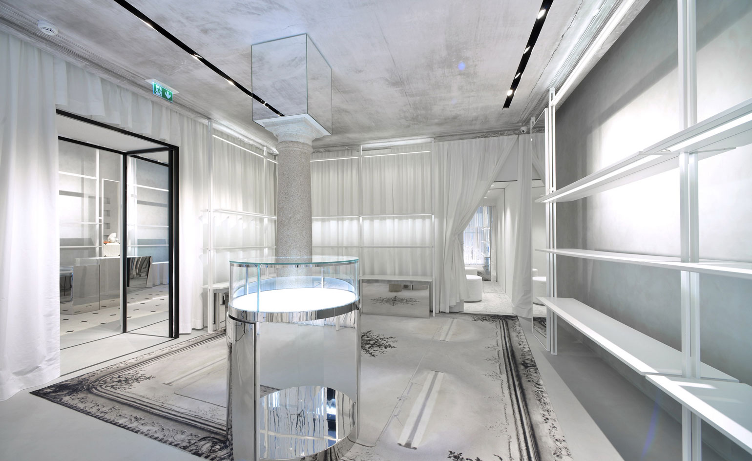 White Out Maison Margiela Draws Back The Curtain On Its