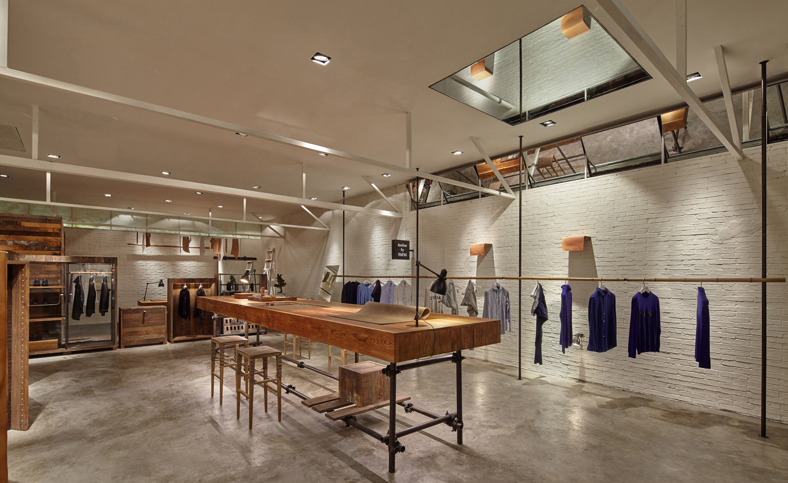 A New Wenzhou Concept Store For Menswear Label Atelier By