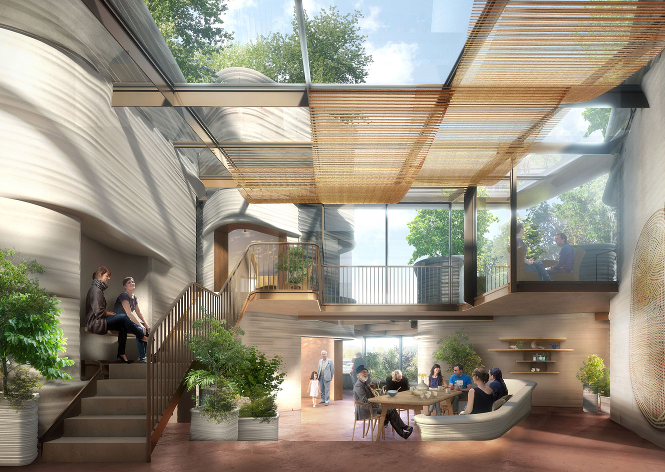 Green healing: Heatherwick Studio plans garden-wrapped ...