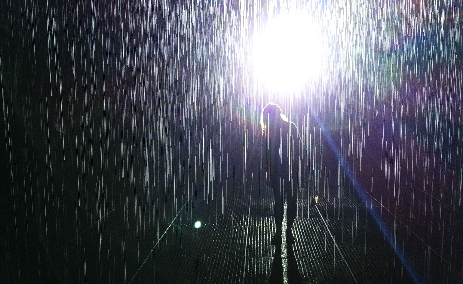 Barbican S Rain Room Made By