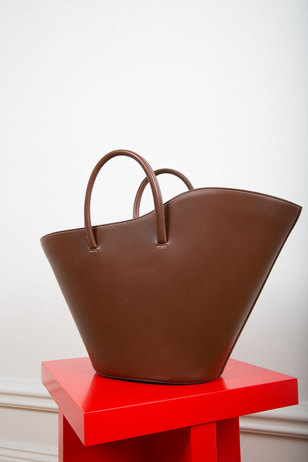Geometric bags by Little Liffner