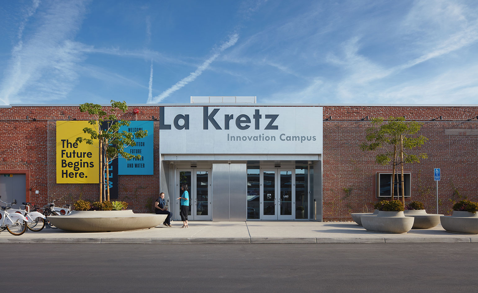 La kretz innovation campus is a new creative la hub for Los angeles innovation consultants