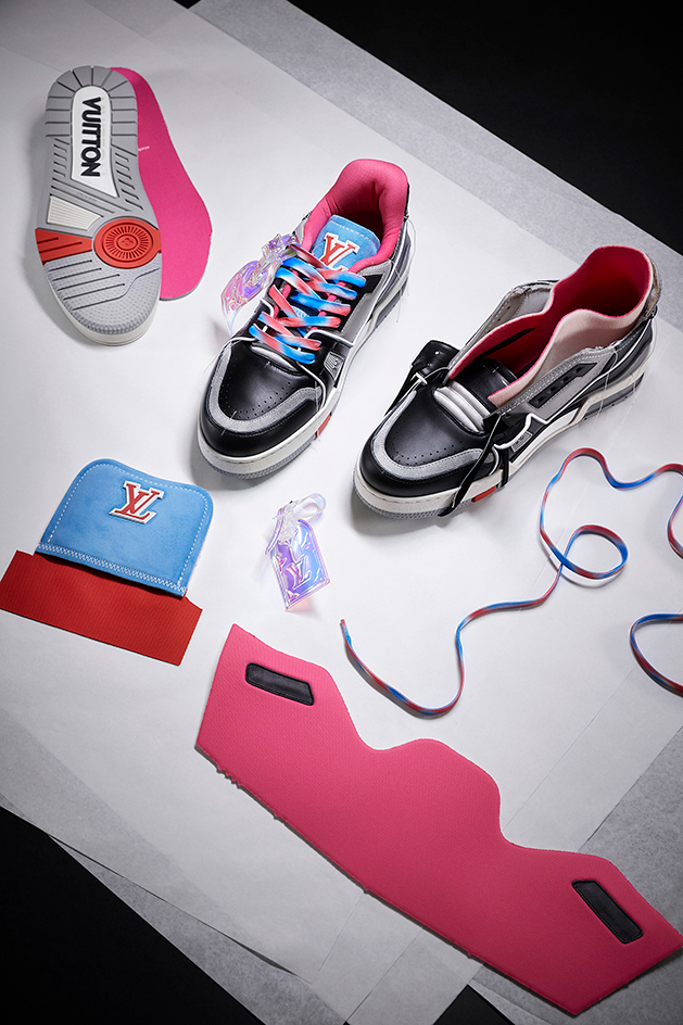 Sneakers Louis Vuitton upcycled trainers