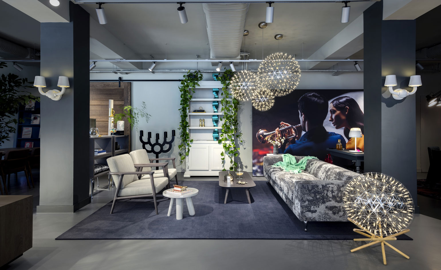 new moooi showroom opens in london wallpaper. Black Bedroom Furniture Sets. Home Design Ideas