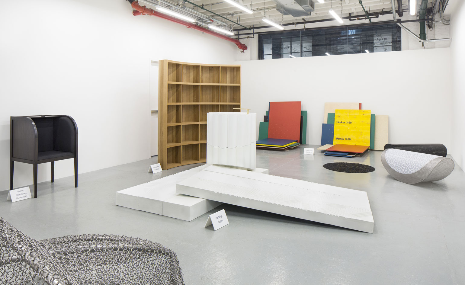 architectural furniture design. To Curate This Latest Show That Sees The Owner Of Now Closed Chamber Gallery Commission New Works From Nine Emerging Architectural Practices Furniture Design