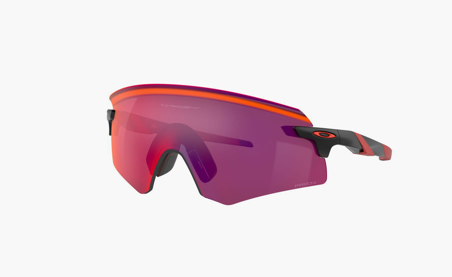 Surf style inspired reflective wraparound sunglasses by Oakley