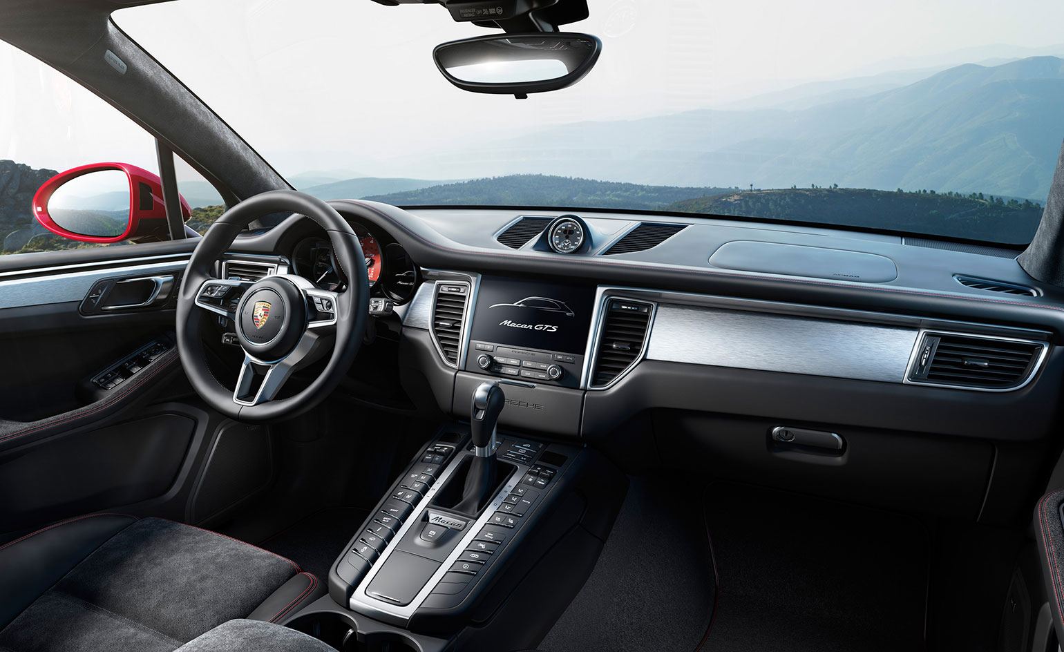 The New And Improved Porsche Macan Gts Wallpaper