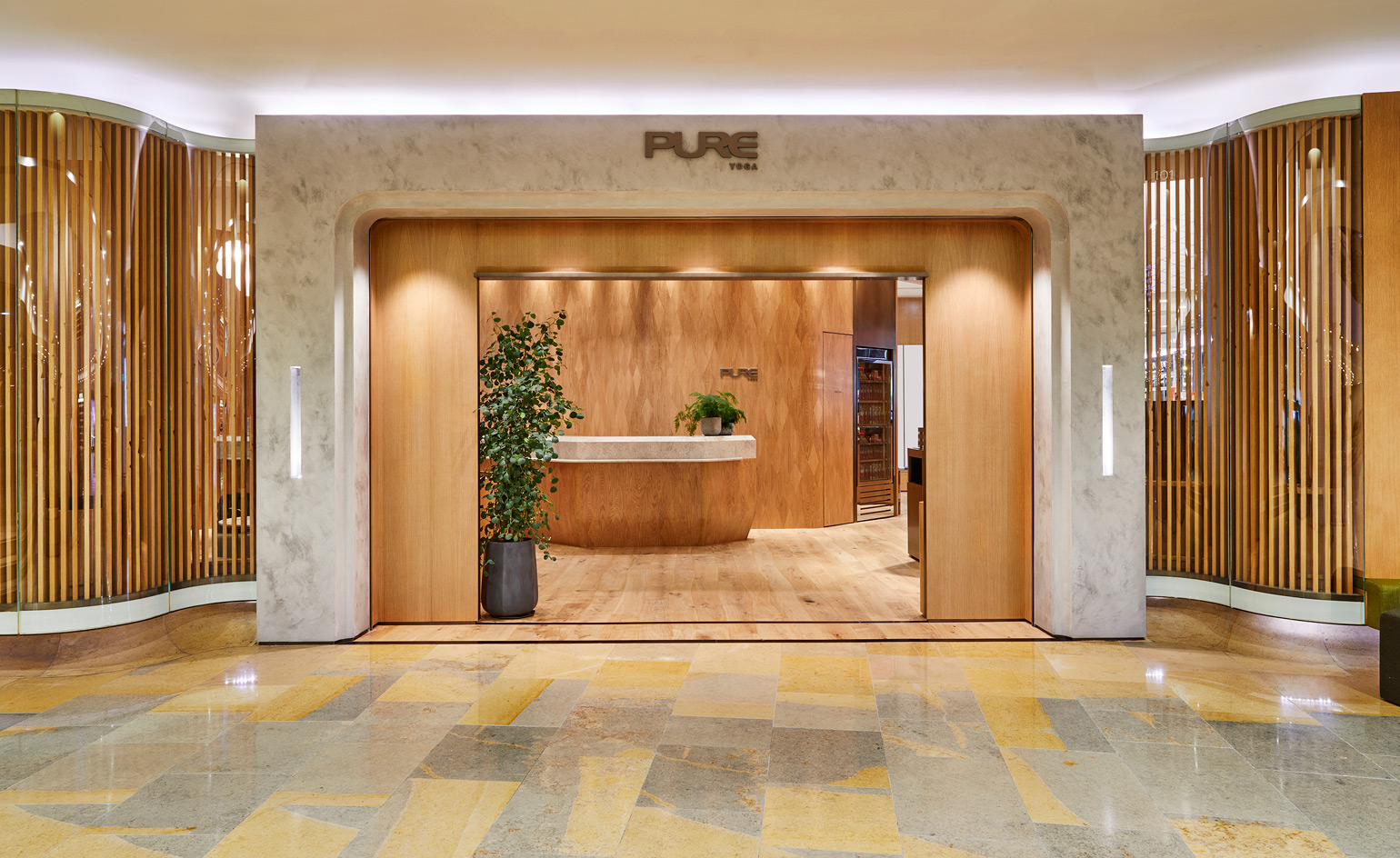 Pure Yoga debuts a luxury look at its newest Hong Kong ...