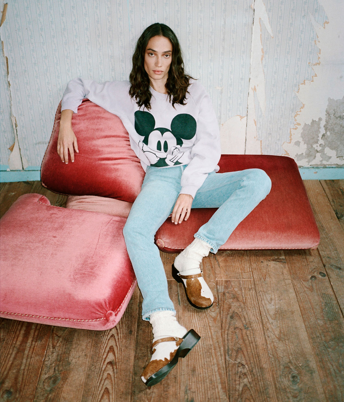 sustainable denim brands Redone jeans and jumper