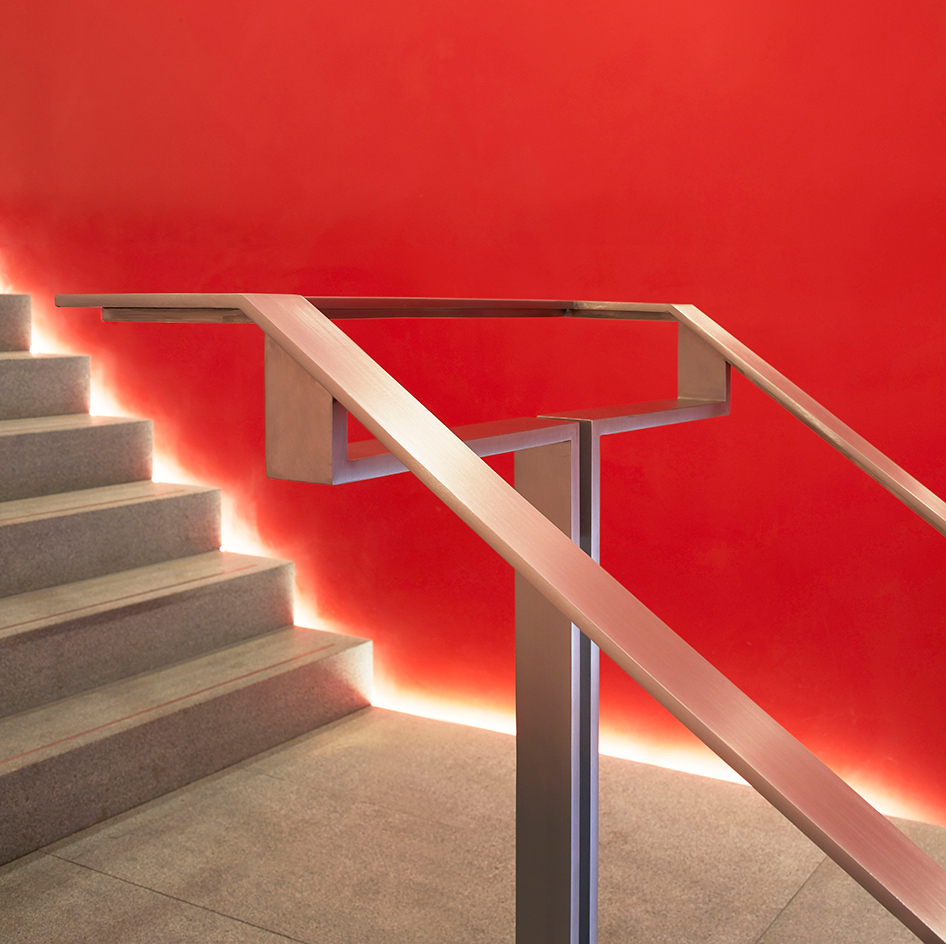Shadow Gap Staircase Lighting: RIBA North Opens In Liverpool On Mann Island