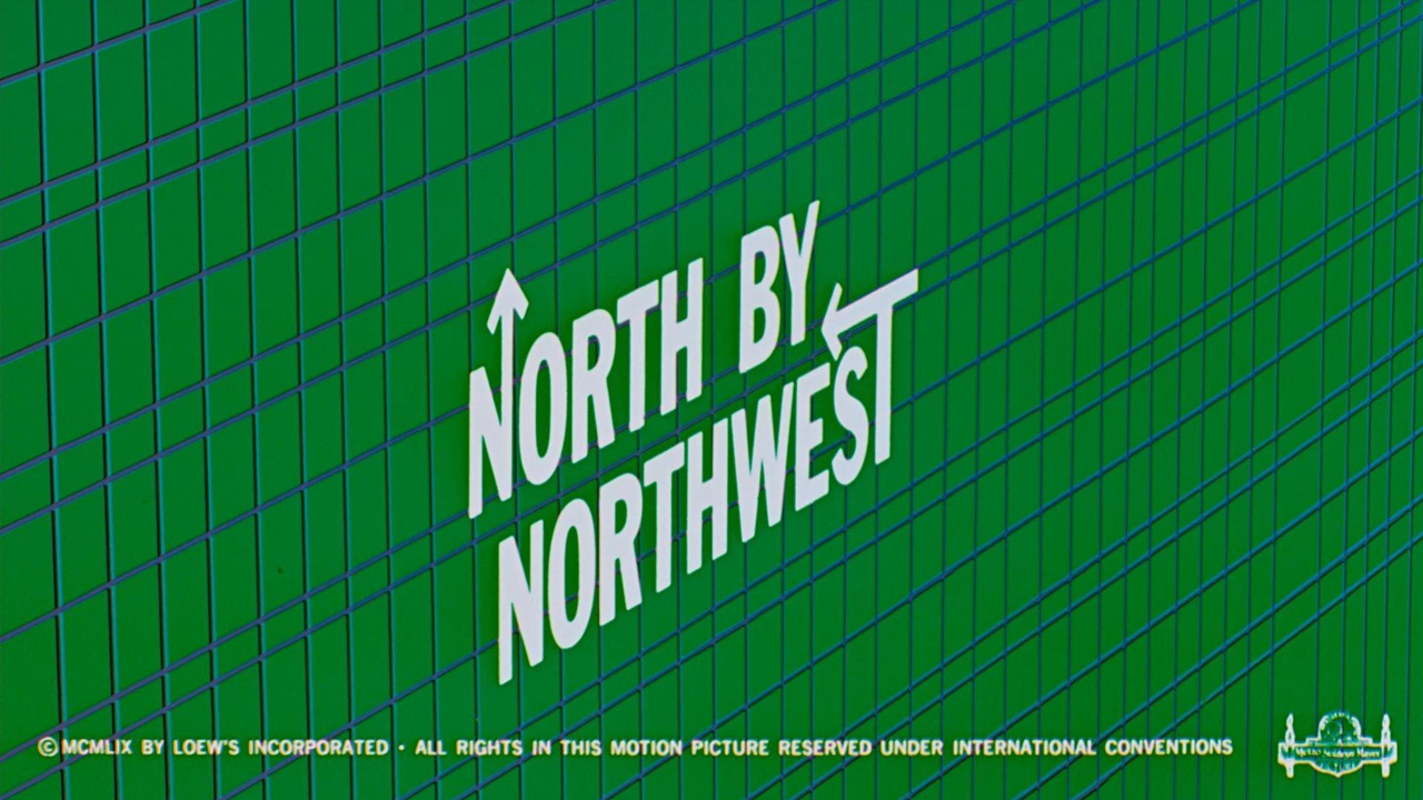 North by Northwest opening titles, dir: Alfred Hitchcock (Metro-Goldwyn-Mayer, 1959)