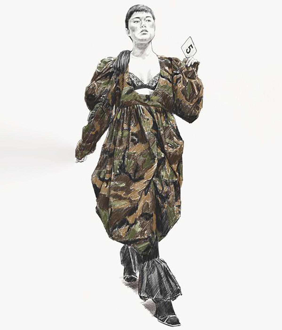 Vaquera A/W 2020 illustration