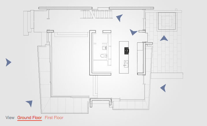 Wallpaper interactive floor plan floating house by arno for Floating home floor plans