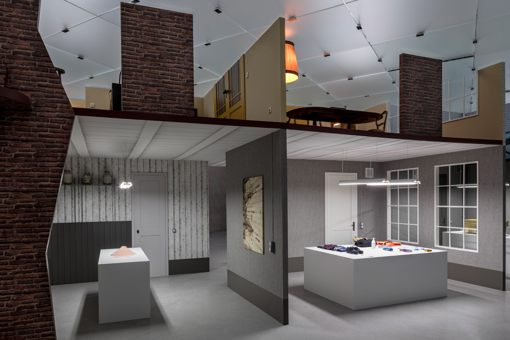 Inside Simon Fujiwara's lifesize replica of Anne Frank's house