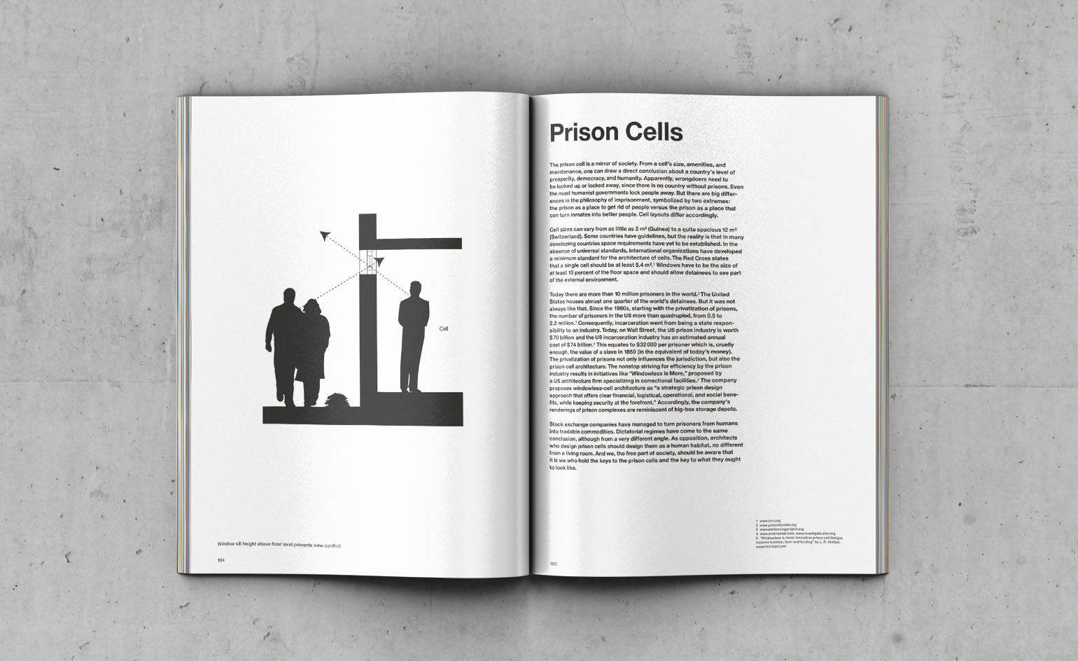 Handbook of Tyranny prison cells
