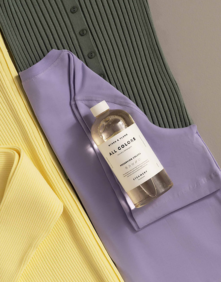 sustainable fashion The Steamery washing detergent