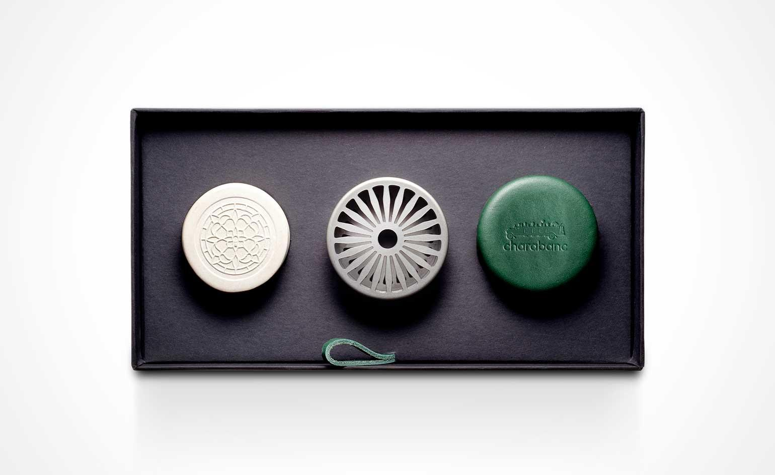 Charabanc automobile fragrance accessories are inspired by the golden age of travel