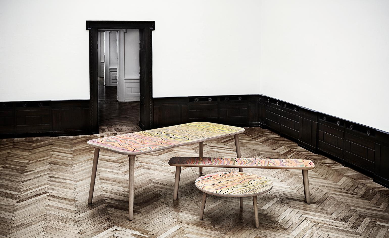 Marble masterpieces: Snedker Studio debuts new furniture collection