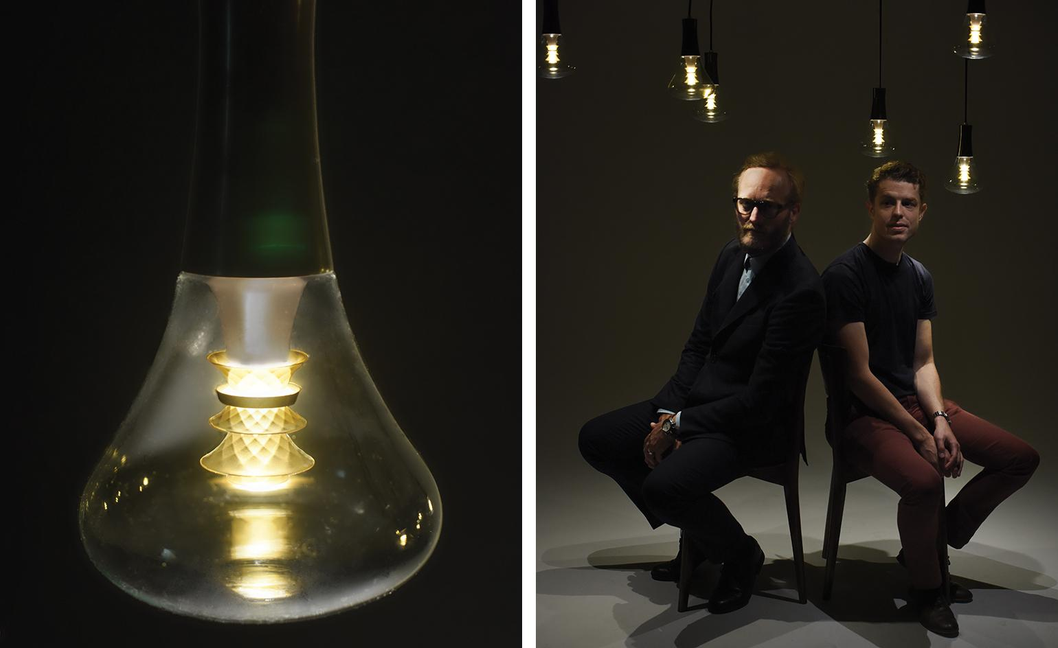 Bright sparks: Plumen's latest energy-efficient bulb recreates the soft glow of an earlier age