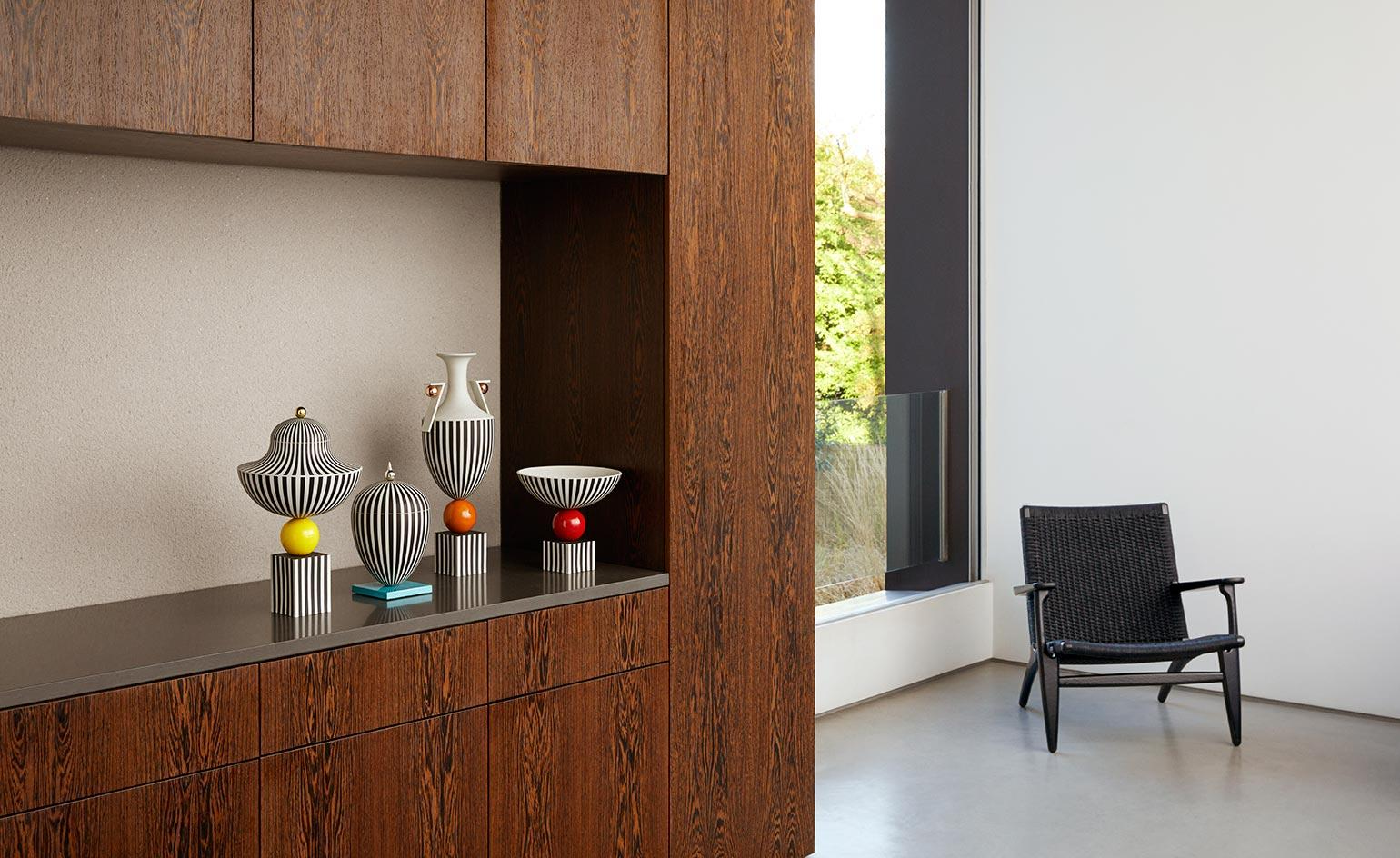 Stripe show: the limited-edition Wedgwood by Lee Broom collection is top of the lines