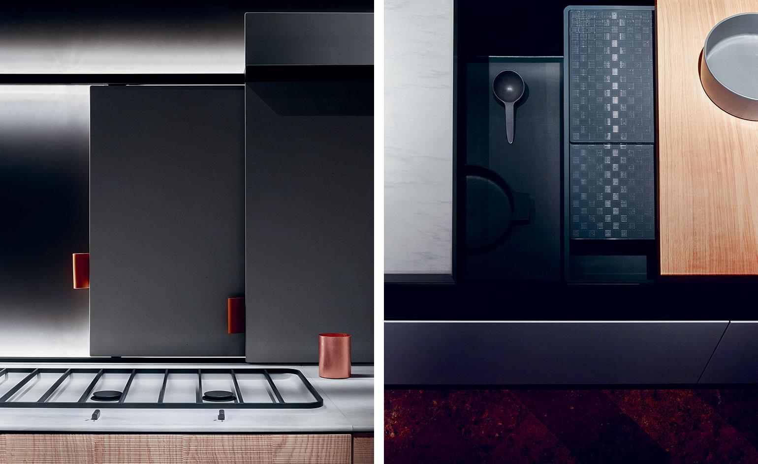 Slide lines: Bulthaup's new kitchen offers a movable feast