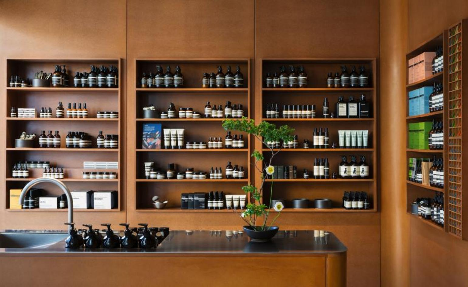 Aesop stores: a visual history of interior architecture