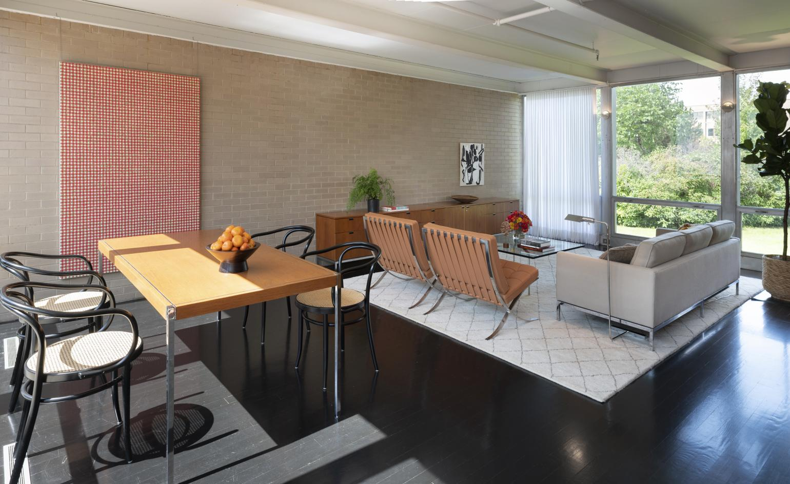 Mies van der Rohe's McCormick House is brought back to life at the Elmhurst Art Museum