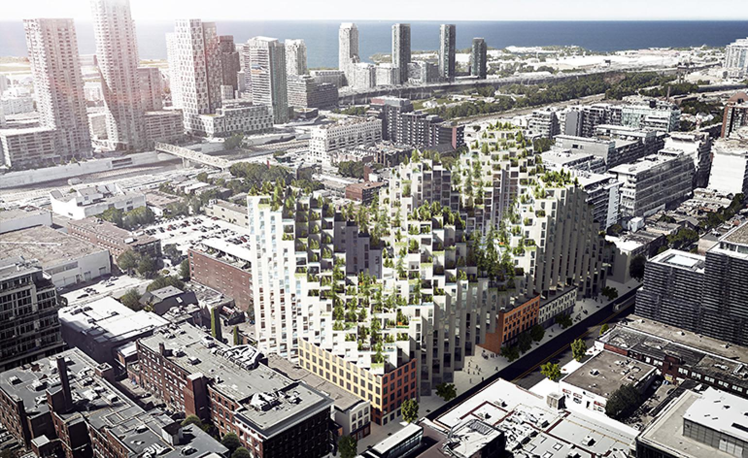 Bjarke Ingels Unveils Residential Development In Toronto