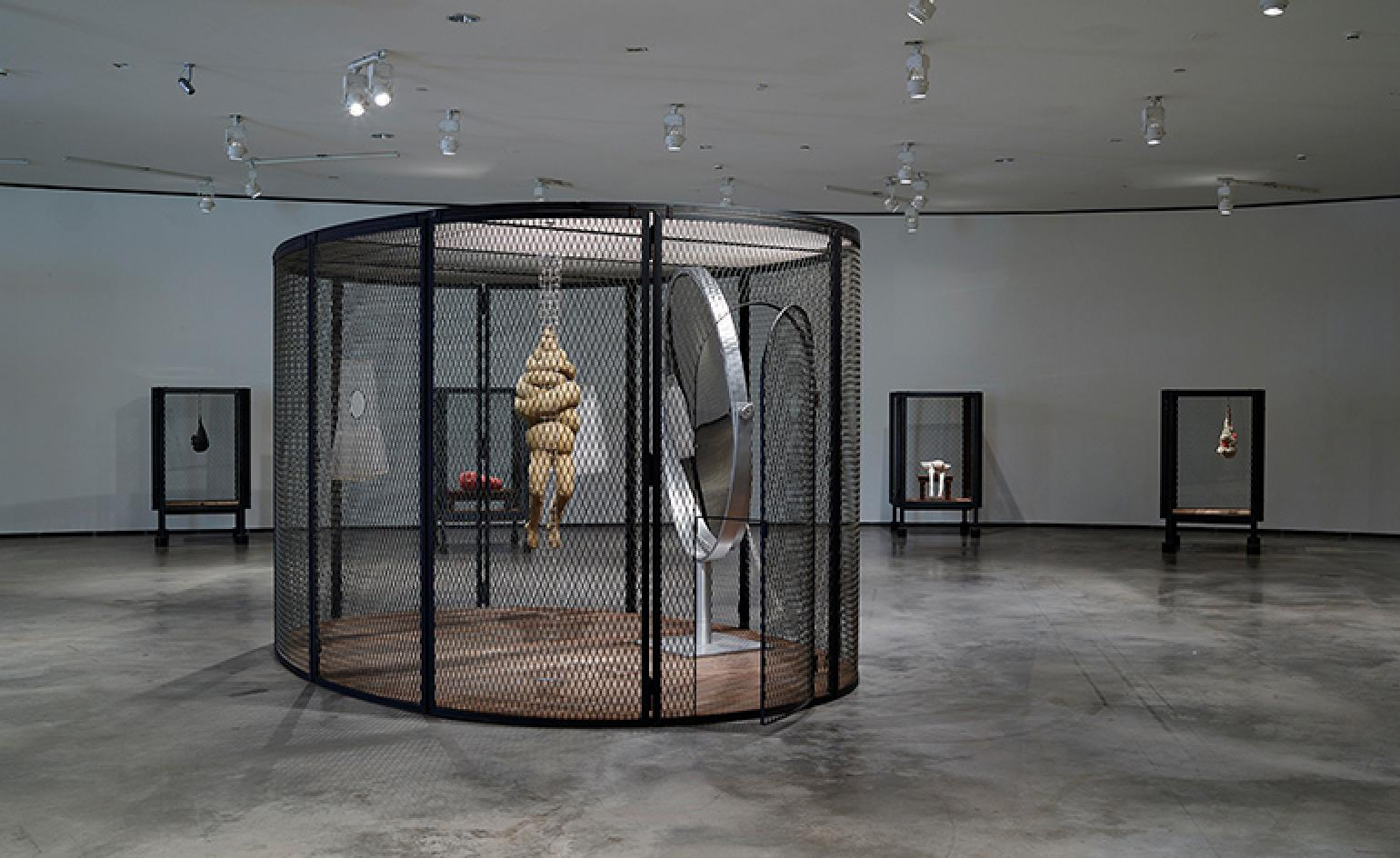 Louise Bourgeois Cell Works At Guggenheim Bilbao