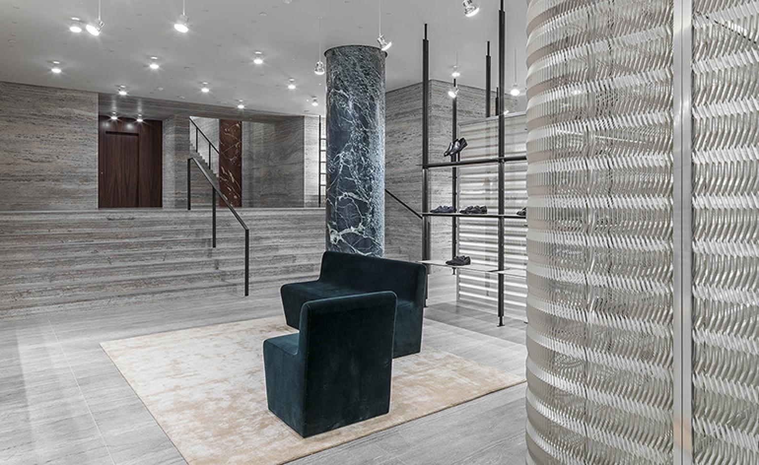 Design By: Brioni Opens David Chipperfield-designed Paris Store