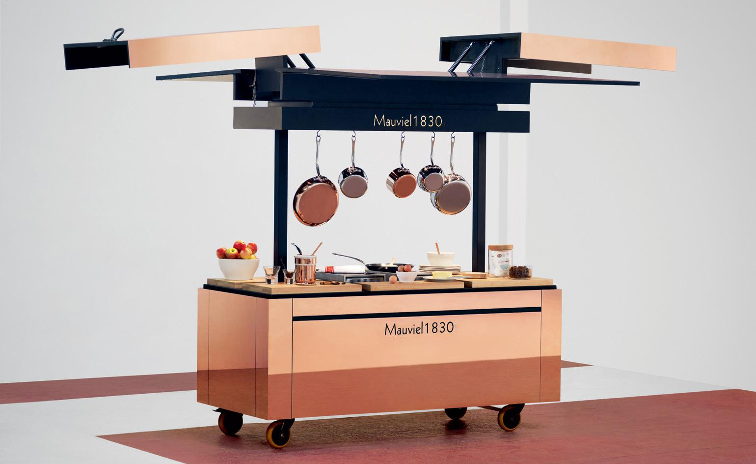 Box clever: a new mobile kitchen with hidden depths