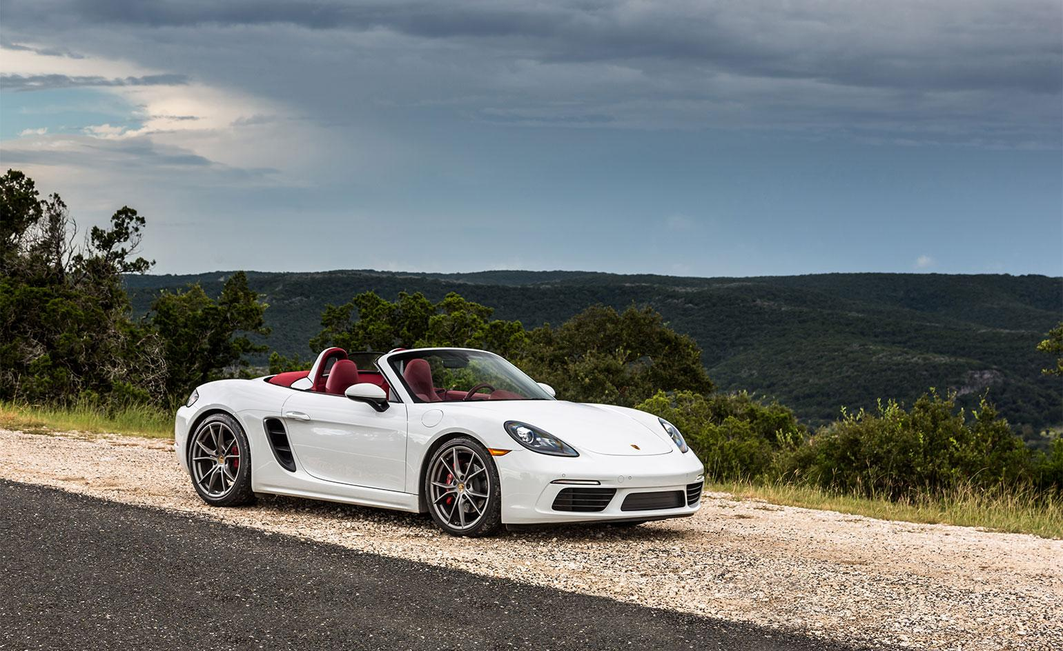 Porsche 718 Boxster Is The Sleekest Sports Car On The Market Wallpaper