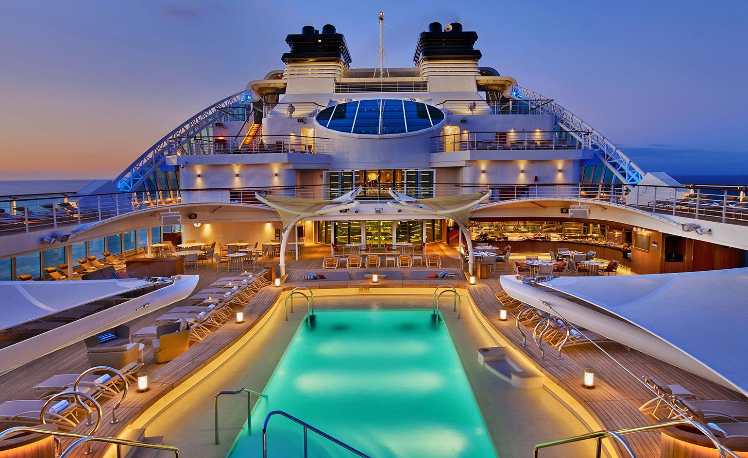 Ship Shape Luxury Cruise Line Seabourn Launches The Encore Wallpaper