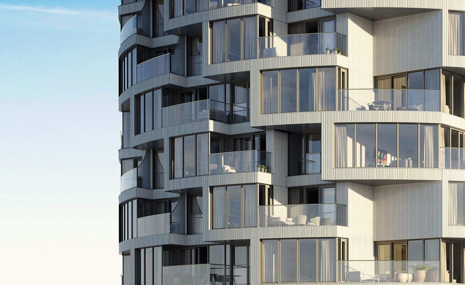 Herzog De Meuron Launch First Uk Residential Building