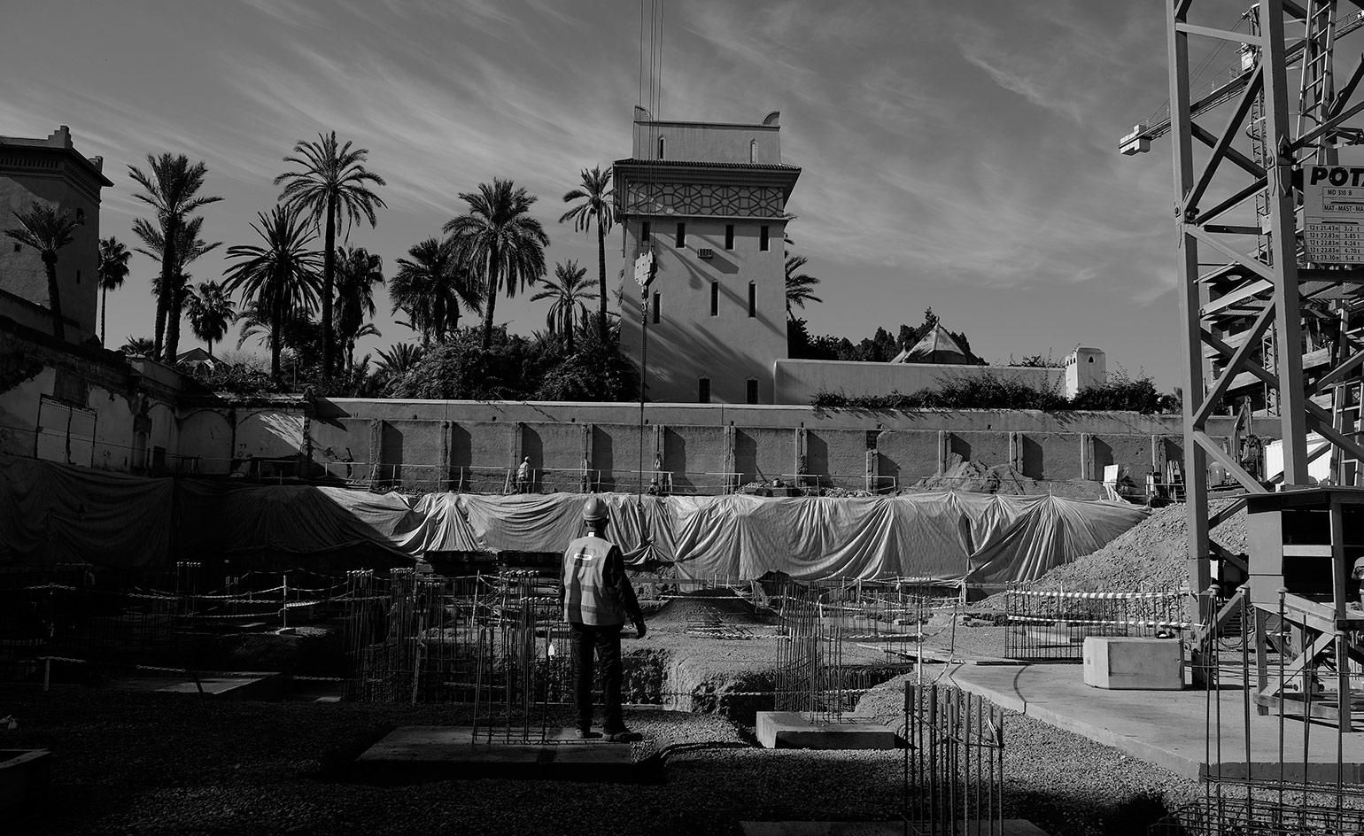 Under Construction The Yves Saint Laurent Museum Marrakech