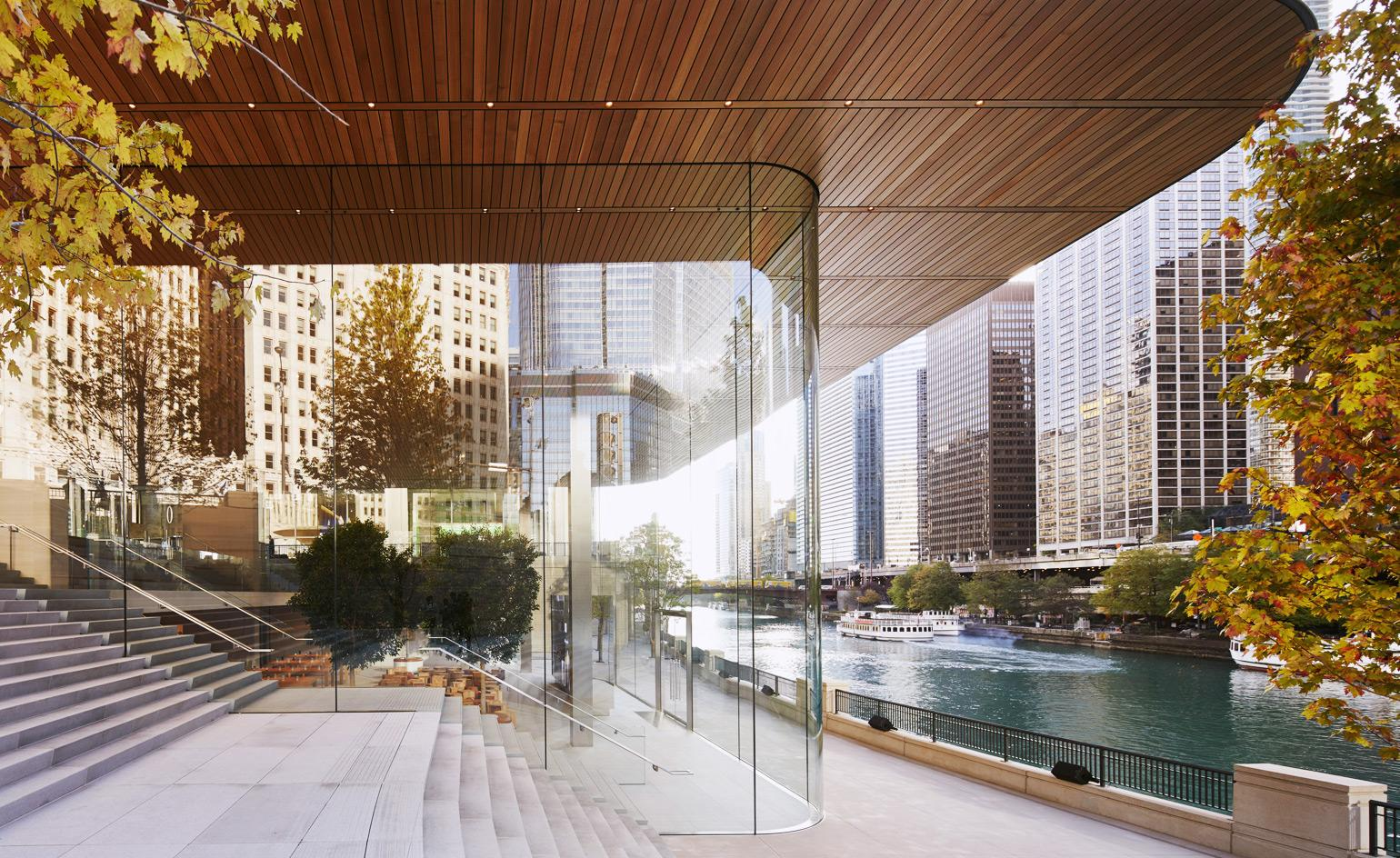 New Pioneer Travel >> Stefan Behling and Angela Ahrendts on the future of retail at Apple Michigan Avenue | Wallpaper*