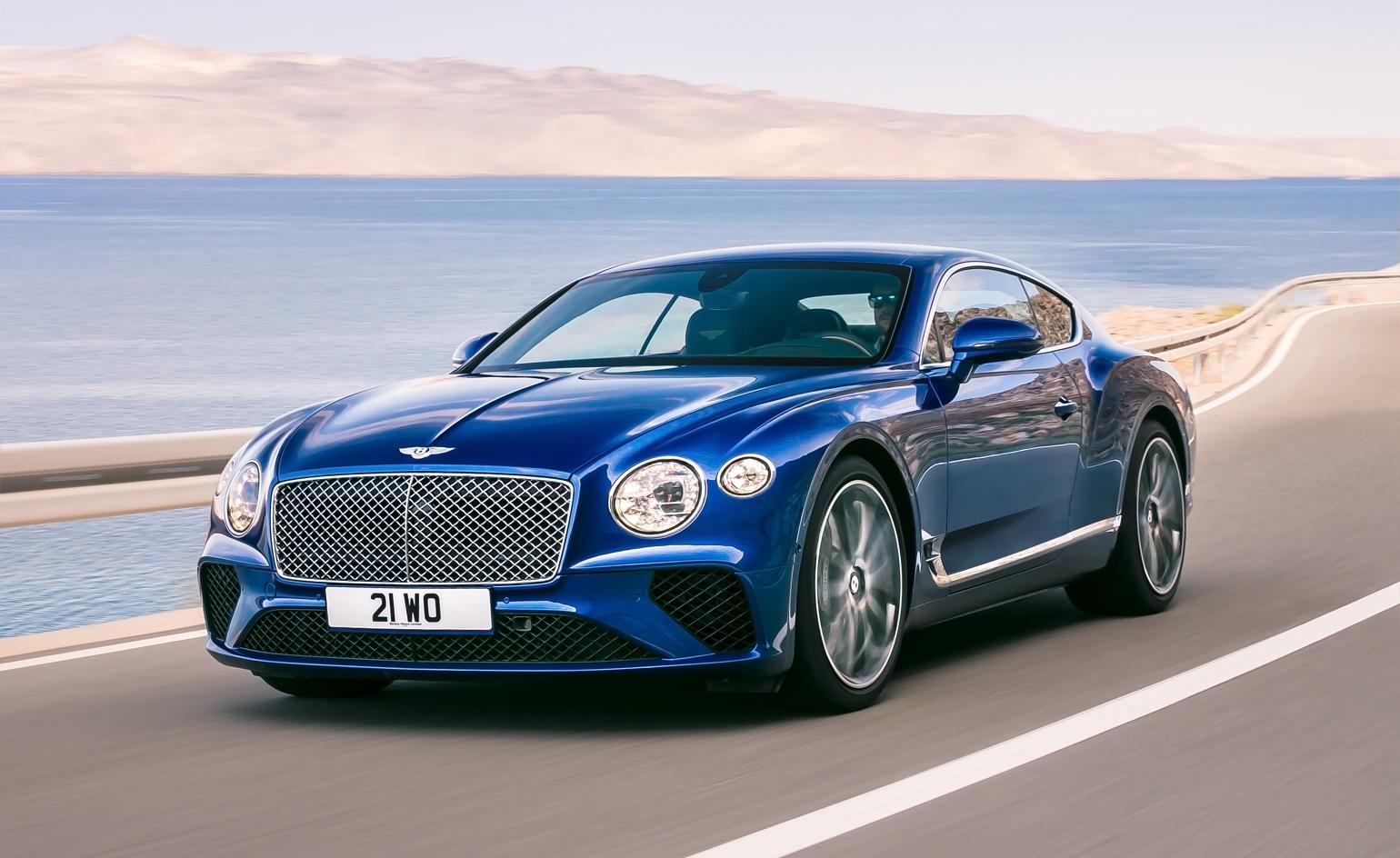 Bentley S New Continental Gt Is A Complete Re Imagining Wallpaper
