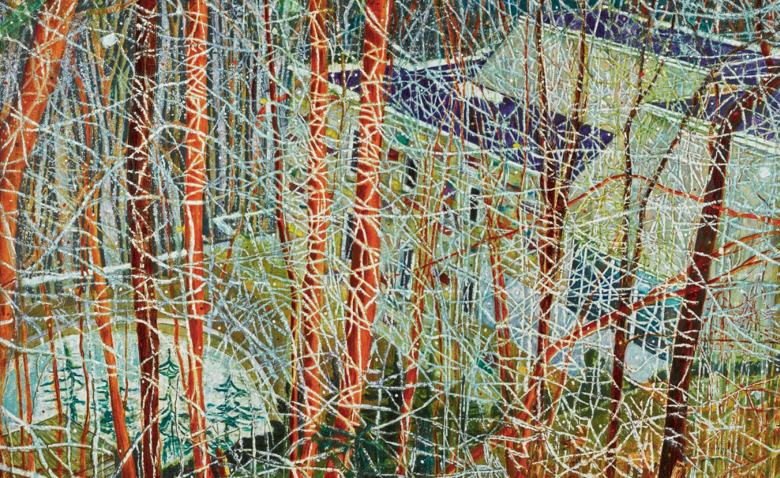 The Surprising Story Behind Peter Doig S Landmark Painting