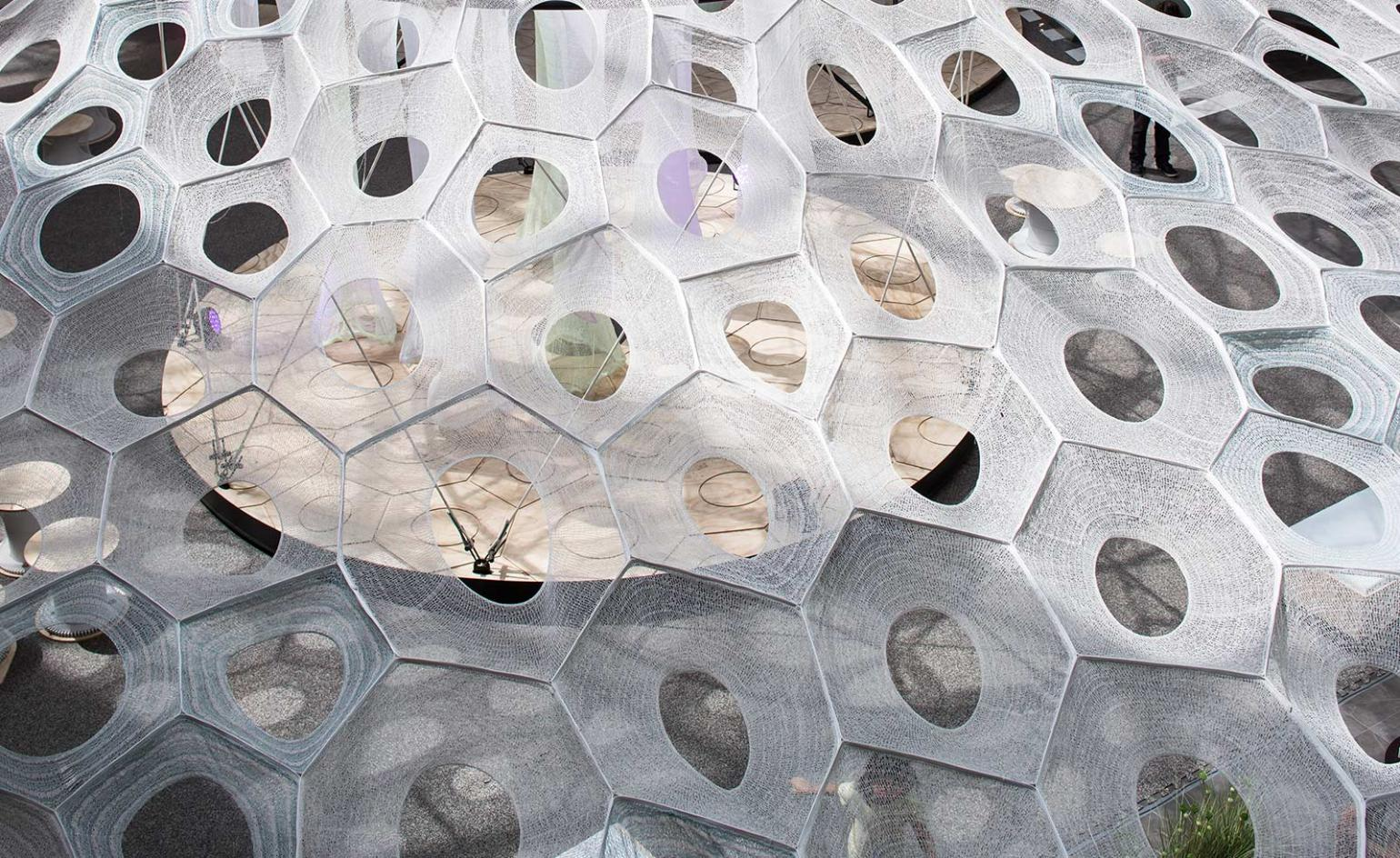 Jenny Sabin and Constructo team up for immersive installation in Chile